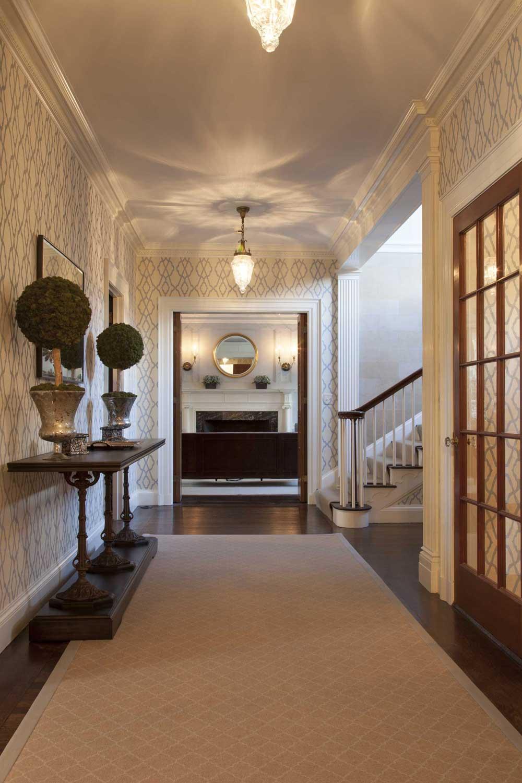 hallway And Plant